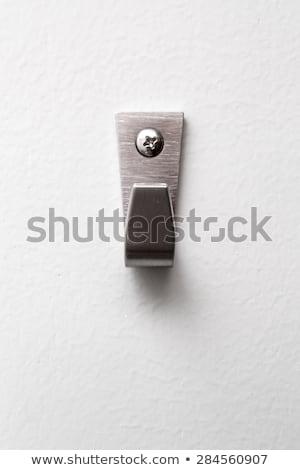 Duvar kanca 3d illustration yalıtılmış beyaz dizayn Stok fotoğraf © montego