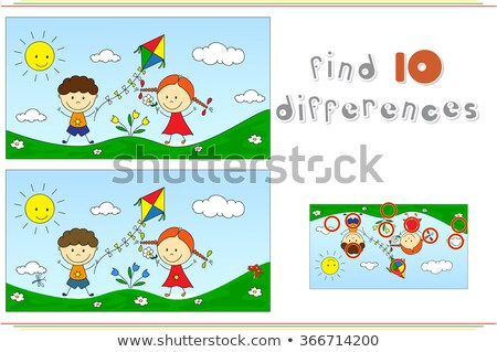 spot the difference walk stock photo © olena