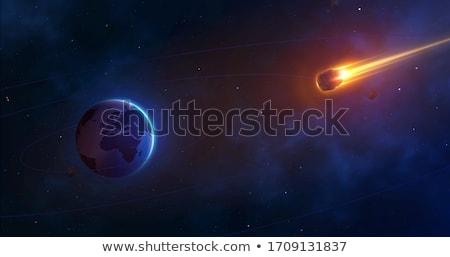 bolygó · naprendszer · csillagászati · feliratok · bolygók · természet - stock fotó © pikepicture