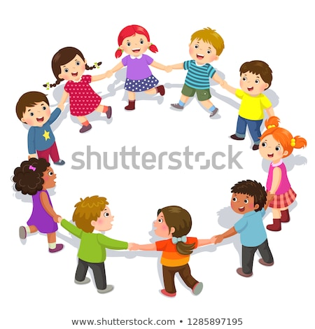 Kid Hold Daycare Illustration Stock photo © lenm