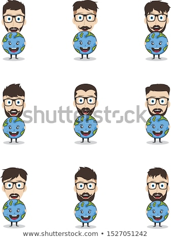 保存 地球 キャンペーン 男 ホールド 世界 ストックフォト © vector1st