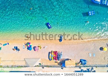 Idílico praia Croácia península região Foto stock © xbrchx