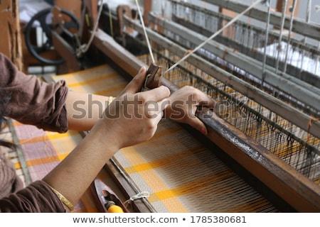 Details ethnischen Minderheit Hand Frau Arbeit Stock foto © craig