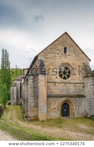 аббатство Франция монастырь юго-запад здании Церкви Сток-фото © borisb17