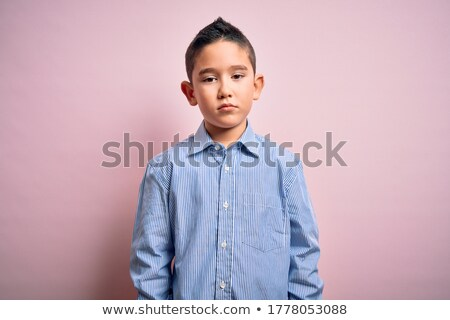 little boy face. stock photo © lubavnel