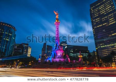 Meksika çerçeve Meksika semboller sanat seyahat Stok fotoğraf © dayzeren