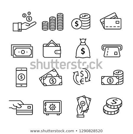 Teléfono móvil dólares euros dinero teléfono fondo Foto stock © stokato