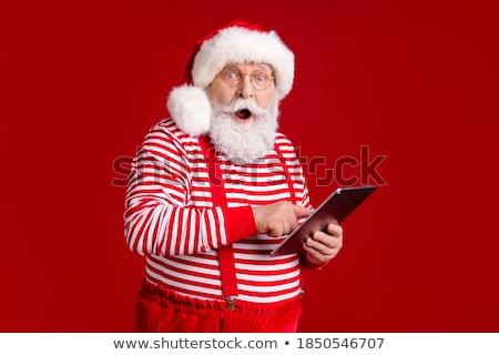 Дед Мороз счастливым комнату костюм Сток-фото © alexandre17