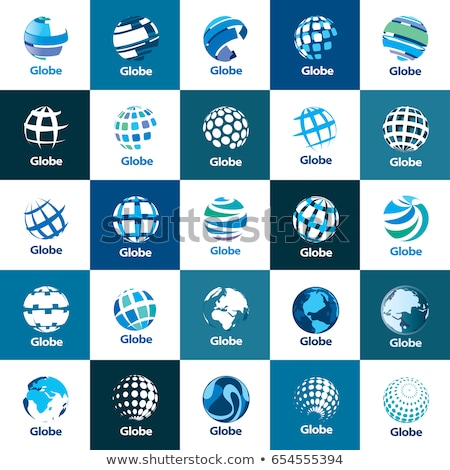 network sphere icon Stock photo © oblachko