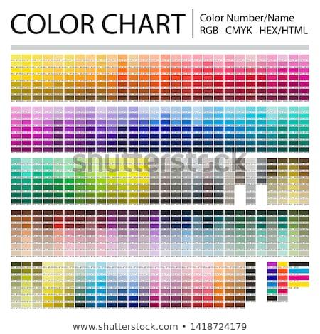 CMYK Colors Stock photo © Viva