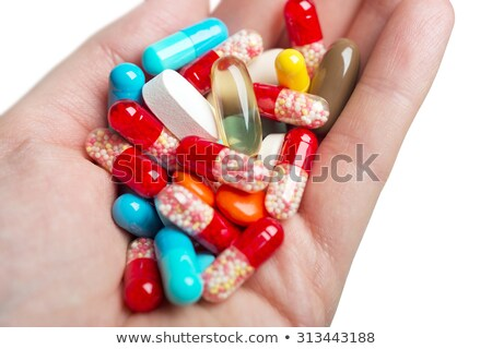 Hand Holding Drug Cocktail Stock photo © photohome