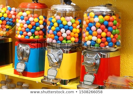 Bubble gum machine Stock photo © pixpack