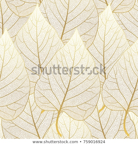 autumn seamless background vector illustration stock photo © isveta