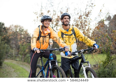 Couple cycling together Stock photo © photography33