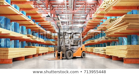 Lumber in Factory Yard Stock photo © tepic