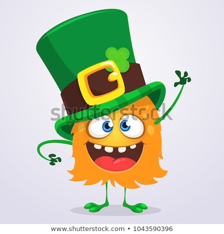 Laughing Leprechaun Stock photo © indiwarm
