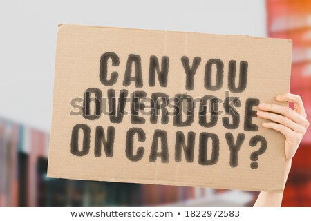 Chocolate overdose. Stock photo © lithian