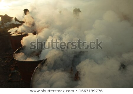 A burned female construction worker. Stock photo © photography33