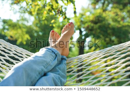 lazy legs Stock photo © smithore