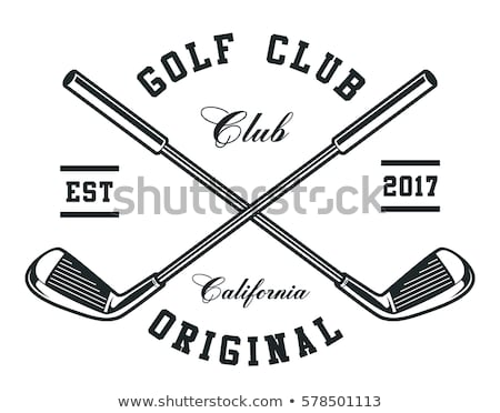 Golf klub obraz sportowe Zdjęcia stock © 5thGM