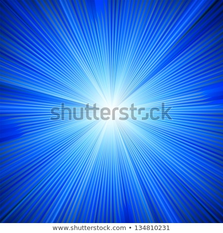 A Blue color design with a burst. EPS 8 Stock photo © beholdereye