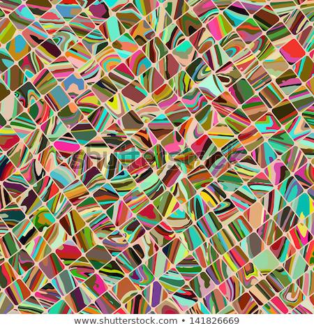 piccolo · rettangolo · particelle · senza · soluzione · di · continuità · vettore · pattern - foto d'archivio © beholdereye