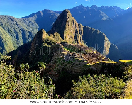World landmarks among the mountains Stock photo © ajlber