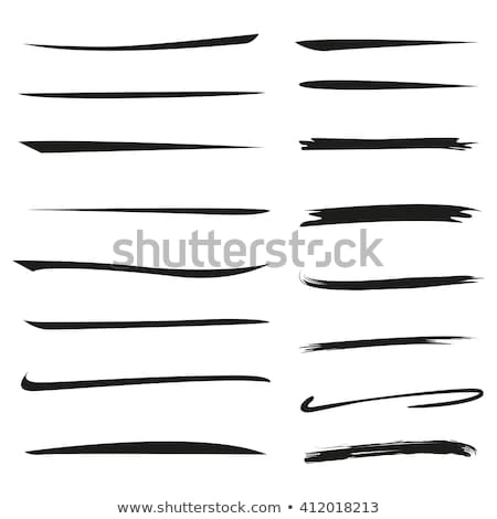sketched underline Stock photo © prill