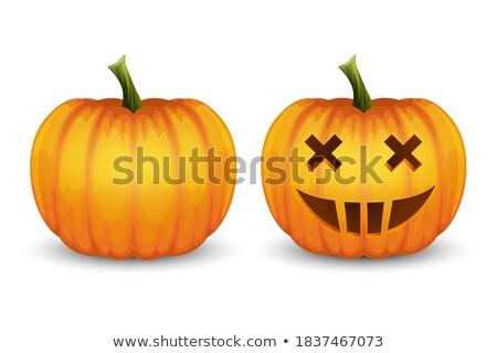 halloween · stencil · witte · vector · heks · magie - stockfoto © beaubelle