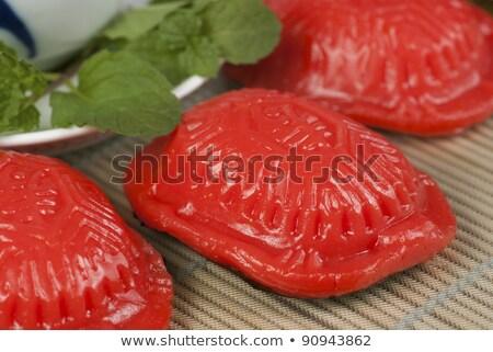 伝統的な 亀 ケーキ 中国語 ケーキ 南 ストックフォト © soonwh74