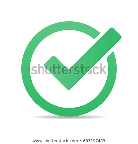 checkmark icon Stock photo © AnatolyM