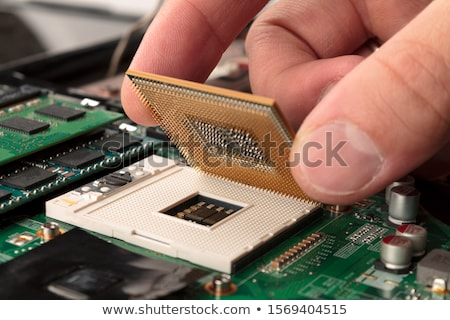 Central Processing Unit Stock photo © idesign