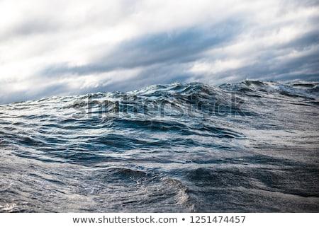 美しい · 風光明媚な · 表示 · バルト海 · パノラマ · 嵐 - ストックフォト © maisicon