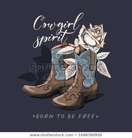 Cowgirl Stock photo © piedmontphoto