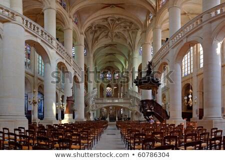 витраж · окна · святой · Церкви · Париж · свет - Сток-фото © jakatics