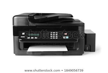 Laser printer on the white background Stock photo © shutswis