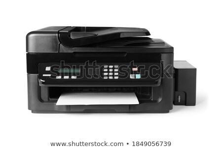 funkció · nyomtató · izolált · számítógép · iroda · művészet - stock fotó © shutswis