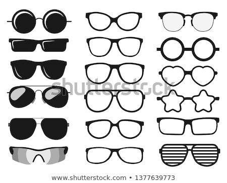 Retro glasses Stock photo © Ronen