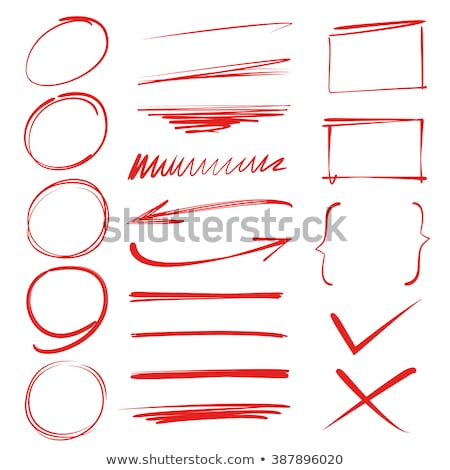 Right or Wrong with Red Marker Stock photo © ivelin