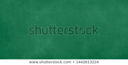 3d green chalk board Stock photo © ribah