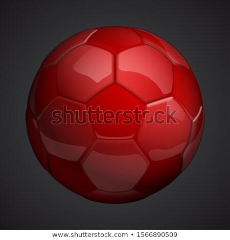 red football ball Stock photo © ozaiachin