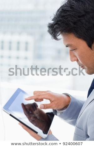 portret · glimlachend · kantoormedewerker · kantoor · business - stockfoto © wavebreak_media