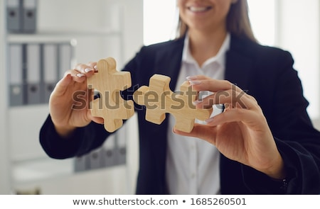Solutions and strategy Stock photo © Lightsource