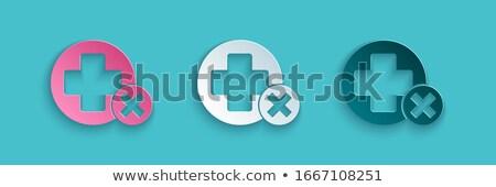Szwajcaria · banderą · papieru · kółko · cień · przycisk - zdjęcia stock © gubh83