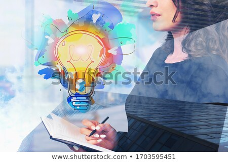 Business Concept. Leadership Sign. stock photo © tashatuvango