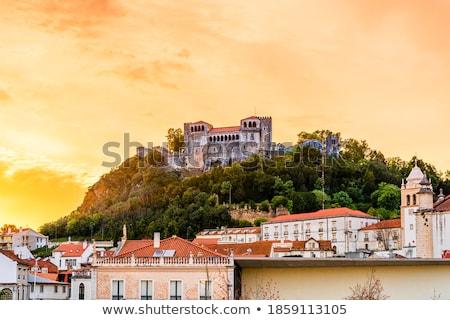 leiria portugal stock photo © dinozzaver
