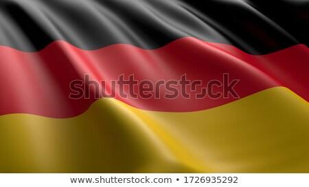 地図 · ドイツ · フラグ · バナー · ベクトル · 孤立した - ストックフォト © maxmitzu