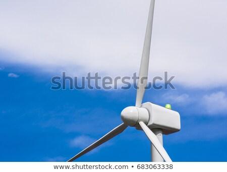 Szélmalom erő generátor szél erőmű szélfarm Stock fotó © snyfer