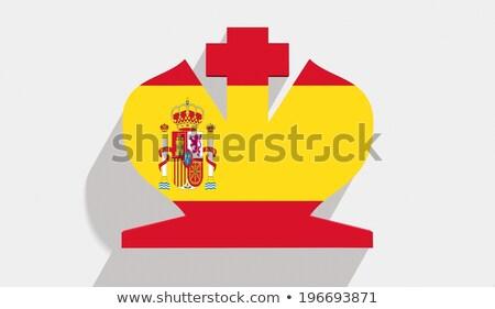 Stamp King Juan Carlos of Spain Stock photo © fxegs