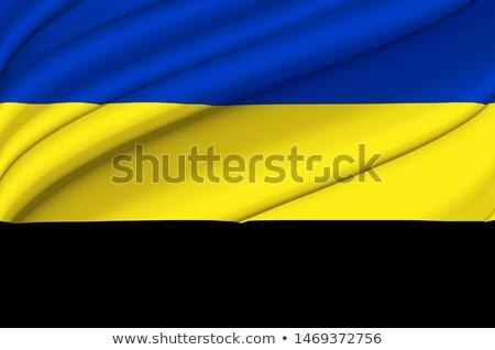 Zászló Hollandia Európa ruha textil szalag Stock fotó © joggi2002